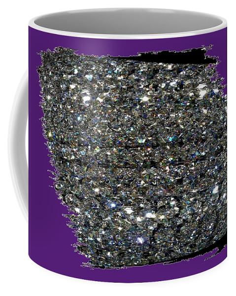 Crystal Coffee Mug featuring the digital art Crystal Light by Will Borden