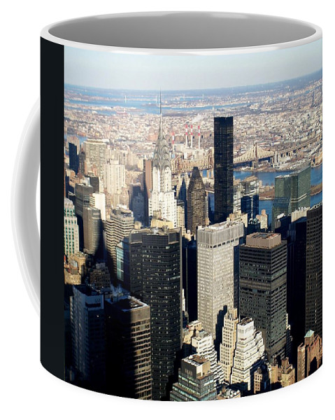 Crystler Building Coffee Mug featuring the photograph Crystler Building 2 by Anita Burgermeister