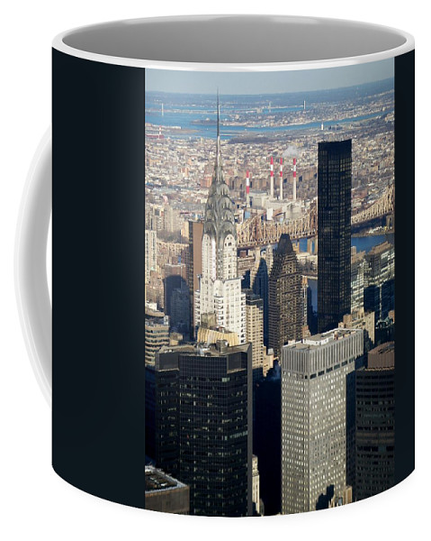 Crystler Building Coffee Mug featuring the photograph Crystler Building by Anita Burgermeister