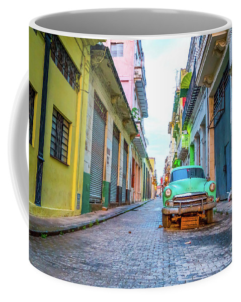 Cuba Coffee Mug featuring the photograph Cuban Mornings by DAC Photography