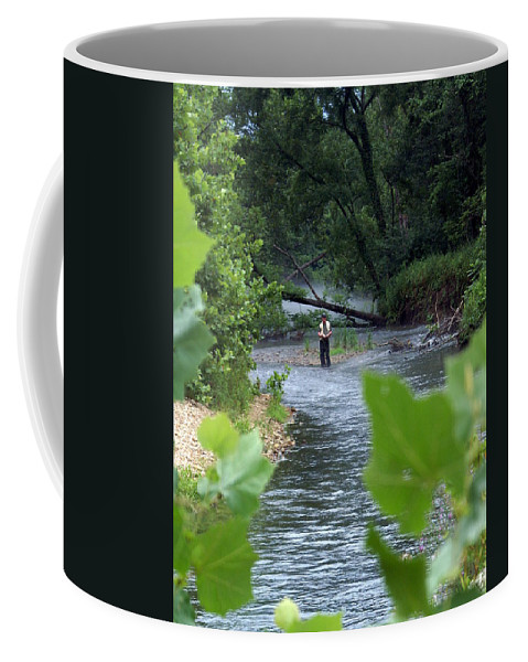 Current River Coffee Mug featuring the photograph Current River 5 by Marty Koch