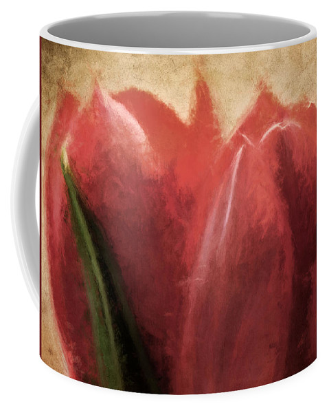 Flowers Coffee Mug featuring the photograph Currently Vintage Xix by Tina Baxter