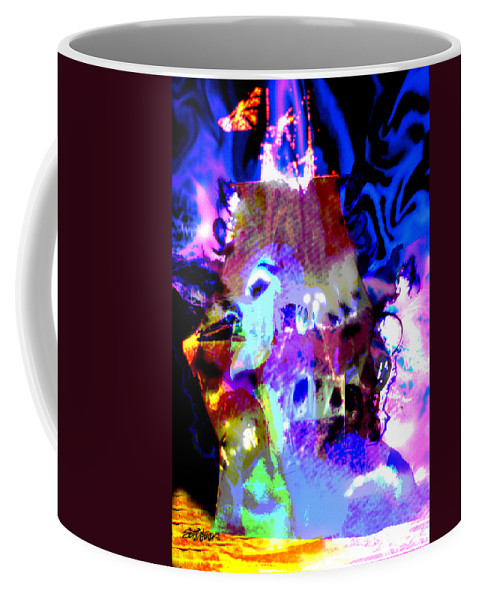 Sea Coffee Mug featuring the digital art Curse Of The Sea Witch by Seth Weaver