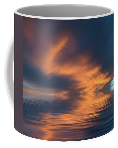 Original Art Coffee Mug featuring the photograph Curved by Jerry McElroy
