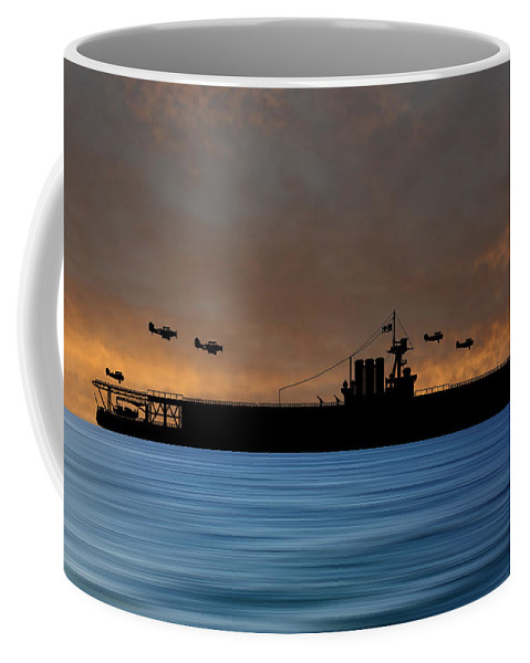 Cus Washington Coffee Mug featuring the photograph Cus Washington 1926 V3 by Smart Aviation