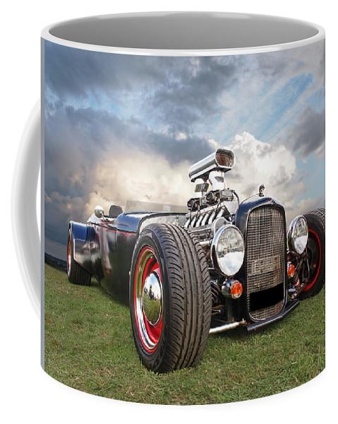 Vintage Hotrod Coffee Mug featuring the photograph Custom Rod by Gill Billington