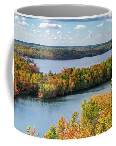 Autumn Coffee Mug featuring the photograph Cuyuna Country State Recreation Area - Autumn #1 by Patti Deters