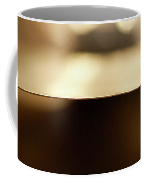 Cymbal Coffee Mug featuring the photograph Cymbal Edge by Lisa Knechtel