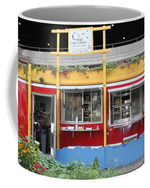 Chicago Coffee Mug featuring the photograph Cyrano's by Lauri Novak
