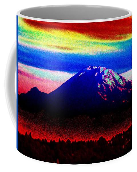 Mount Rainier Coffee Mug featuring the photograph Da Mountain by Tim Allen