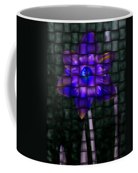Daffodil Coffee Mug featuring the photograph Daffodil Weave 2 by Tim Allen