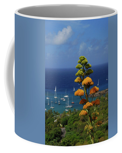 Caribbean Islands Coffee Mug featuring the photograph Daggers Los by Gary Wonning