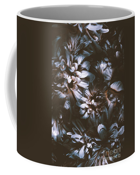 Double Exposure Coffee Mug featuring the photograph Dahlia Abstraction by Jorgo Photography - Wall Art Gallery