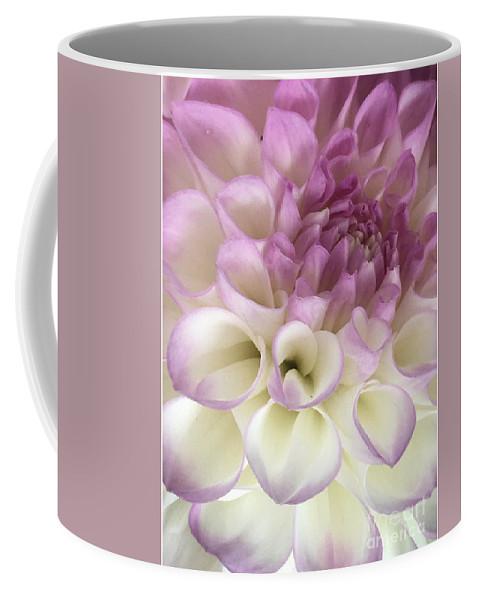 Dahlia Hint Coffee Mug featuring the photograph Dahlia Hint by Susan Garren