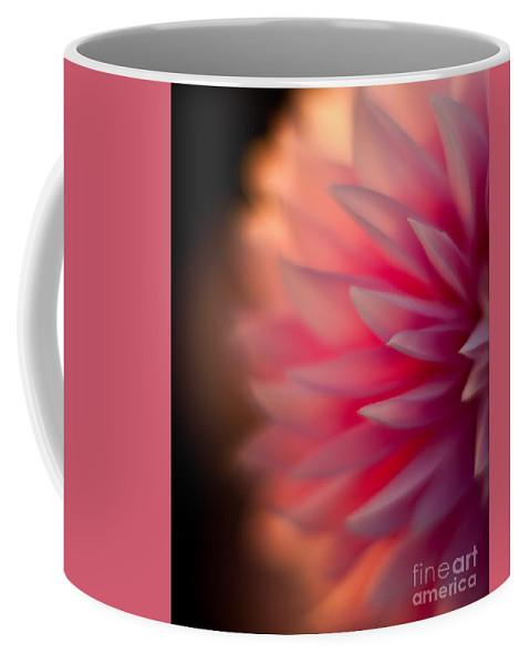 Dahlia Coffee Mug featuring the photograph Dahlia Sunset by Mike Reid