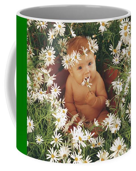 Daisies Coffee Mug featuring the photograph Daisies by Anne Geddes