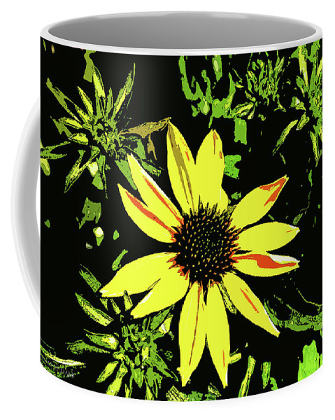 Daisy Bell Coffee Mug featuring the photograph Daisy Bell by Susan Vineyard