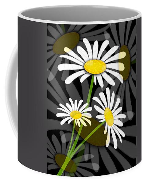 Flower Coffee Mug featuring the digital art Daisy by Svetlana Sewell