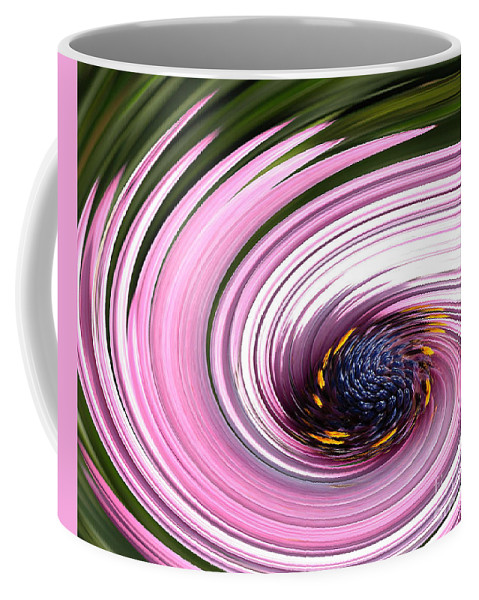 Digital Art Coffee Mug featuring the photograph Daisy Twirl by Norman Andrus
