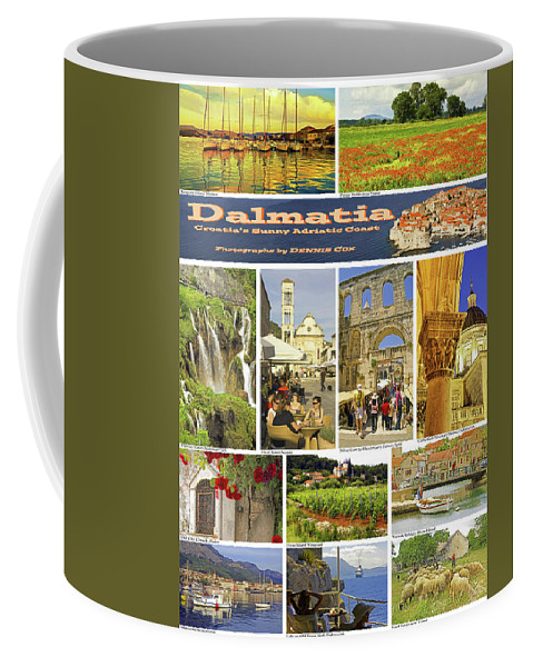 Dalmatia Coffee Mug featuring the photograph Dalmatia Poster by Dennis Cox Photo Explorer