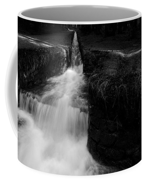 Dammgraben Coffee Mug featuring the photograph Dammgraben - Dyke Ditch by Andreas Levi
