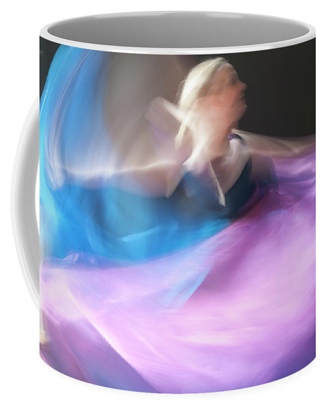Delicacy Coffee Mug featuring the photograph Dance Ballerina by Adele Aron Greenspun