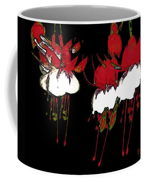 Abstract Coffee Mug featuring the digital art Dance Ballerinas Dance by RC DeWinter