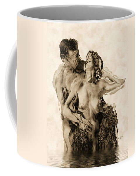 Lovers Coffee Mug featuring the photograph Dance by Kurt Van Wagner