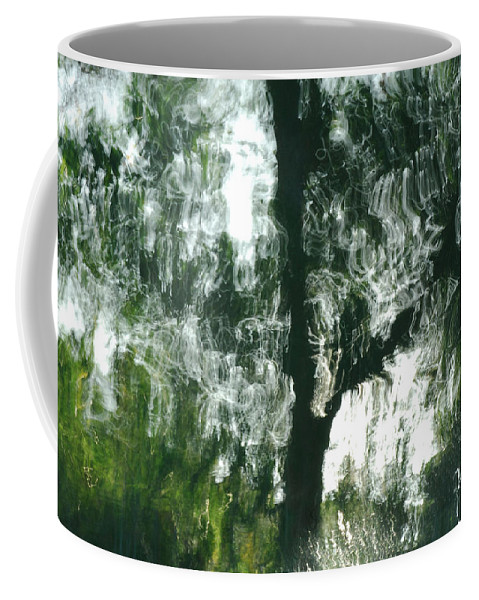 Water Coffee Mug featuring the photograph Dancing Trees by Donna Blackhall