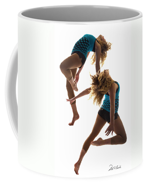 Dance Coffee Mug featuring the photograph Dancing With Myself by Frederic A Reinecke