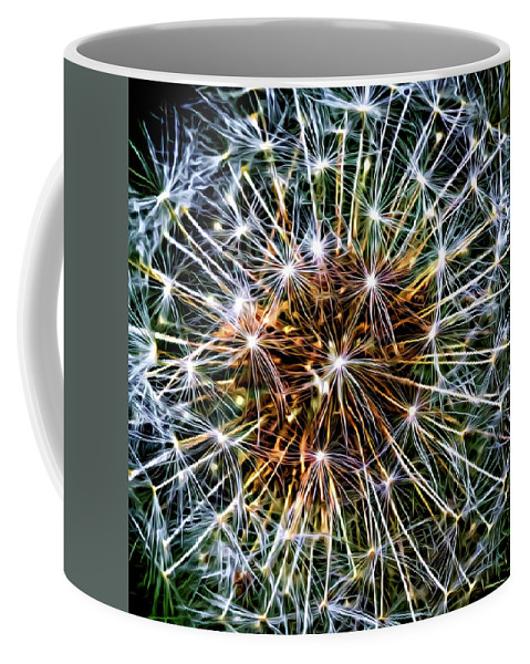 Flora Coffee Mug featuring the photograph Dandy Universe - Paint by Steve Harrington