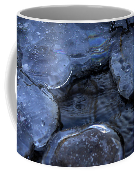 Ice Coffee Mug featuring the photograph Danger Zone by Donna Blackhall