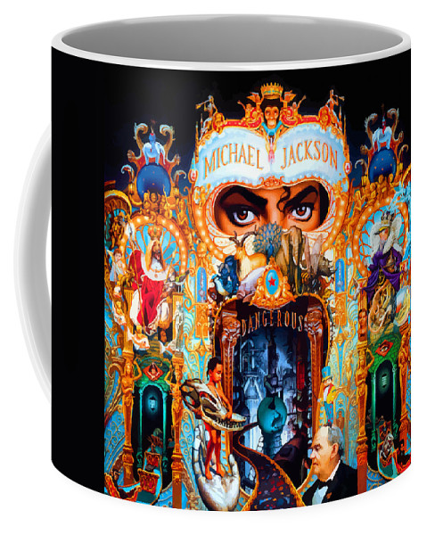 Comics Coffee Mug featuring the digital art Dangerous by Don Kuing