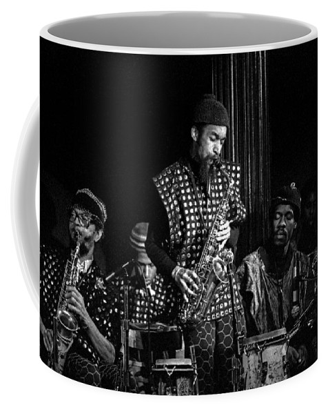 Jazz Coffee Mug featuring the photograph Danny Davis with Sun Ra Arkestra by Lee Santa