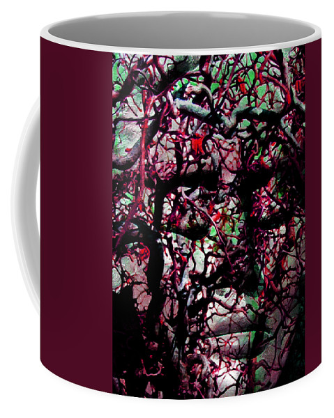 Lady Coffee Mug featuring the photograph Daphne Agony by Angelina Vick