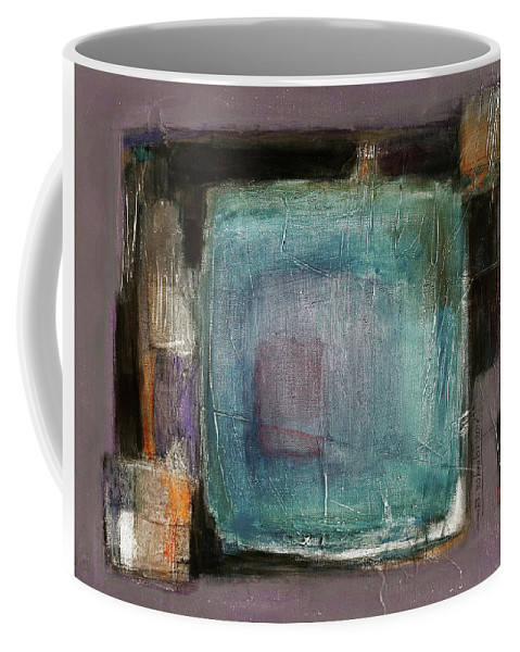 Sketching Coffee Mug featuring the painting Pink by Behzad Sohrabi