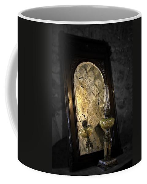 Mirror Coffee Mug featuring the photograph Dark Side by Svetlana Sewell