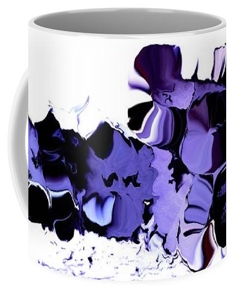 Vegetables Coffee Mug featuring the digital art Dark Turbulence by Ron Bissett