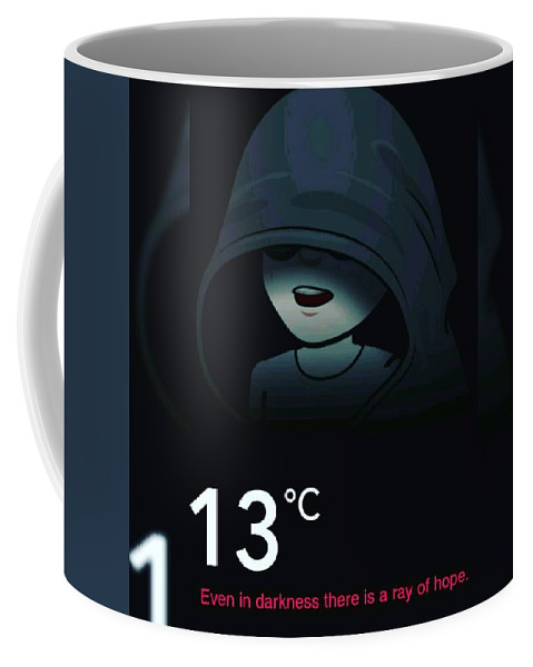 Dark Coffee Mug featuring the photograph Darkness by Anant Prakash