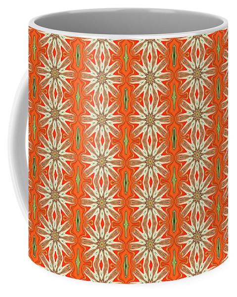 Floral Coffee Mug featuring the digital art Darlin by Heartful Touch Designs