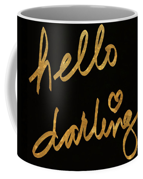 Darling Coffee Mug featuring the painting Darling Bella I by South Social Studio
