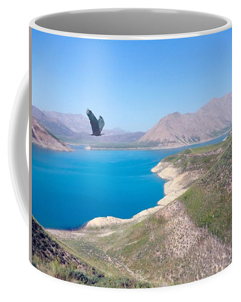Valley Coffee Mug featuring the photograph Dasht-e-lar by Christopher Saleh