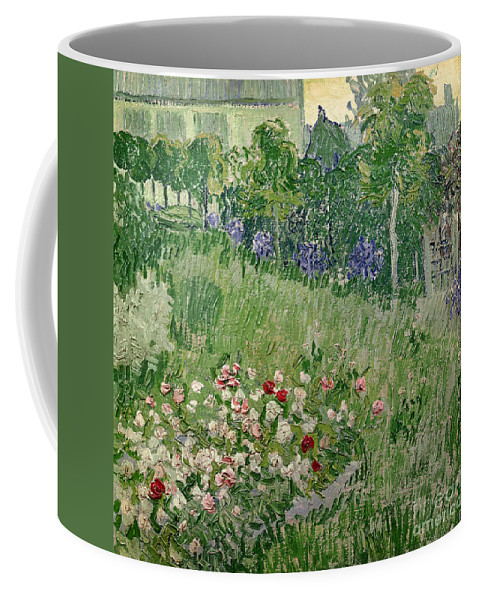 Daubigny Coffee Mug featuring the painting Daubigny's Garden by Vincent Van Gogh