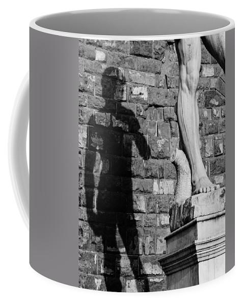 David Coffee Mug featuring the photograph David by Mick Burkey