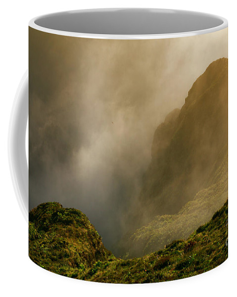Azores Coffee Mug featuring the photograph Dawn At Fogo Crater by Gaspar Avila