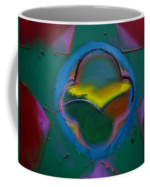 Usaaf Insignia Coffee Mug featuring the painting Dawn Landscape by Charles Stuart