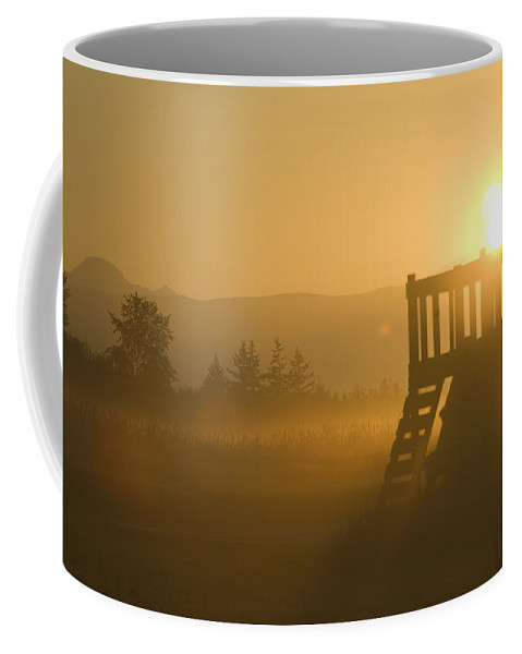 Sunrise Coffee Mug featuring the photograph Dawn by Louise Magno