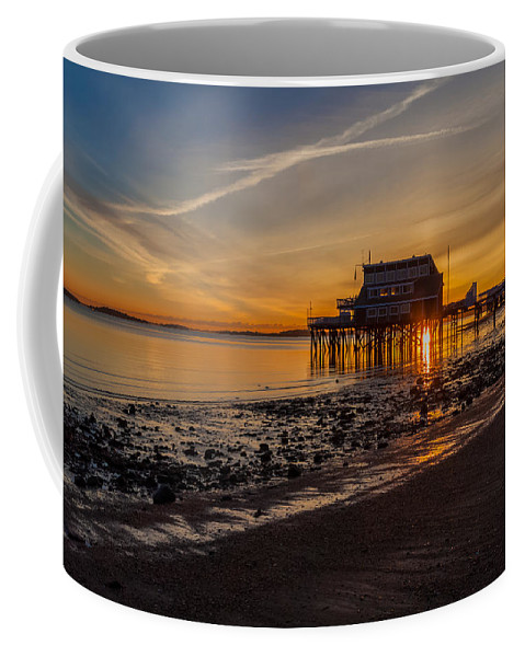 Quincy Coffee Mug featuring the photograph Dawn Of A New Day by Brian MacLean