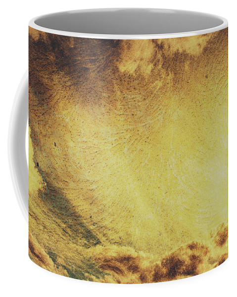 Texture Coffee Mug featuring the photograph Dawn Of A New Day Texture by Jorgo Photography - Wall Art Gallery