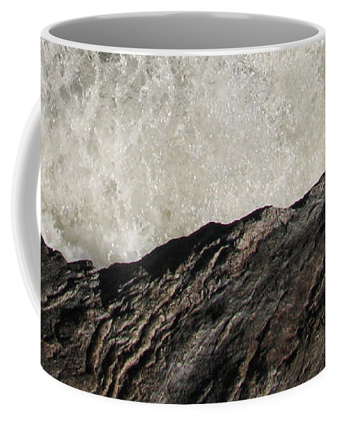 Abstract Coffee Mug featuring the photograph Day And Night by Kelly Mezzapelle